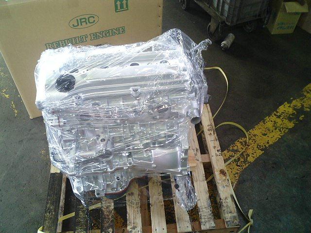 リビルトエンジンを載せる手順