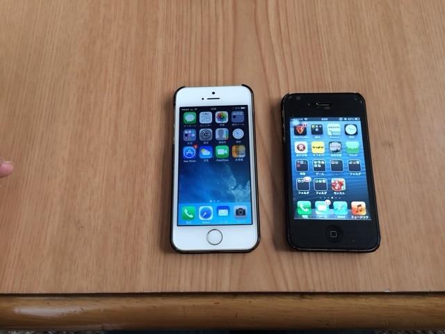 iPhone5Sにした話