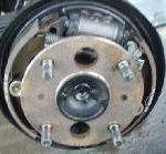 ドラムブレーキ点検・分解整備
