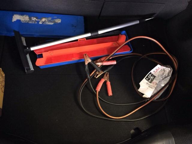 車の中に積んでおきたい道具