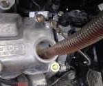 エンジンオイルの入れ方について