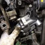 パレット MK21S クーラント漏れ修理 ウォーターポンプ交換