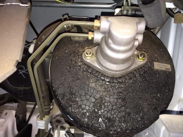 ミニキャブ U62T マスターシリンダーOH ブレーキオイル漏れ