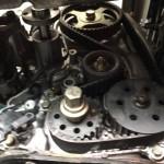 三菱 EKワゴン H81W タイミングベルト・ウォーターポンプ交換