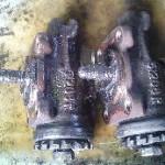 車検の度にブレーキオイル漏れ修理