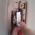 ステップワゴン RF3 ルームランプ LEDに交換