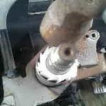 サンバー ステアリングのガタ修理 コラムブッシュ交換