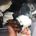 スズキ アルト HN21S 最悪は車両火災になるトラブル。イグニッションスイッチ交換のリコールをやってみた