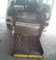 ミニキャブV 福祉車両のリヤゲート降りない修理