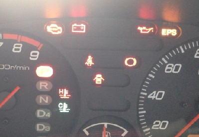 車の警告灯と車検の関係
