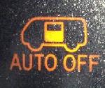 オートドア自動/手動切替表示灯