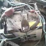 カプチーノ EA11R バッテリー台座交換