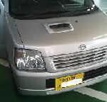 ワゴンR MC22S 運転席ドアアウターハンドル交換