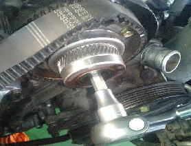 クラウン JZS153 1JZのVVTタイミングベルト・カムシャフトオイルシール交換