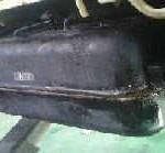 燃料タンクが錆びて穴があいてしまった件