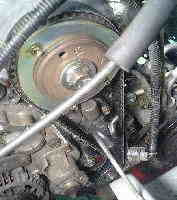 ムーヴ L160S タイミングベルト交換