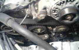 ビスタ SV43 タイミングベルト交換 3Sエンジン