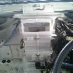 ハイゼット 冷却水漏れ ヒーターコア交換
