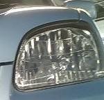 ヘッドライトの黄ばみと車検について