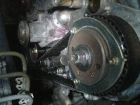 ムーヴ L900S タイミングベルト交換・ウォーターポンプ交換