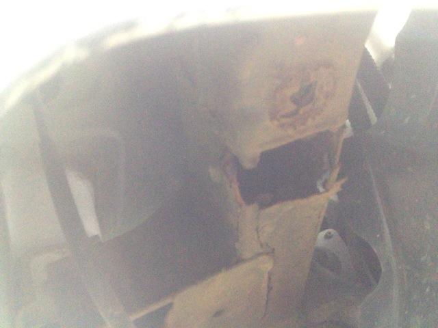 フレームが錆びて車検がダメになるケースが多い