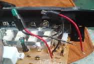 ジムニー ヒーターコントロールの照明電球交換 JB23W