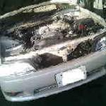 マーク2 JZX93 Rブレーキパッド交換