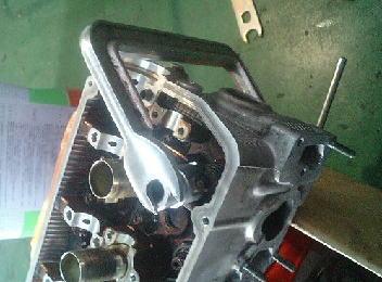 ワゴンR F6A 4バルブ シリンダーヘッドOH その4