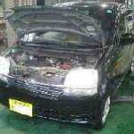 ムーヴ L160S フロントブレーキパッド交換