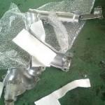 遮熱板の損傷と指定工場のジレンマ