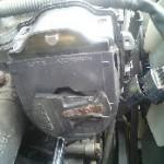 整備士の車の整備を依頼されて、依頼された部品を交換しても治らないケース