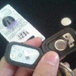 定期的なキーレスとスマートキーの電池交換をしよう