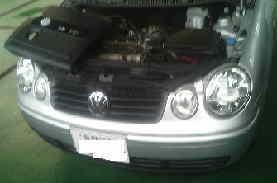 VWポロ エンジン始動性悪化 水温センサー交換