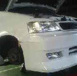 ステップワゴン RF1 リヤブレーキパッド交換
