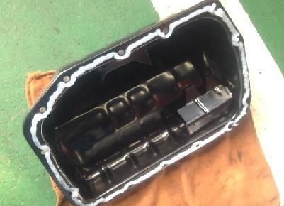サンバー TT2 オイルパン交換