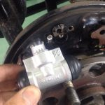 サンバー TT2 リヤブレーキ ホイールシリンダー交換