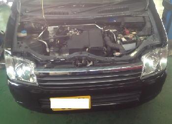 ワゴンR エンジンチェックランプ点灯 カム角センサ交換