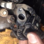 サンバー エンジンが突然止まる カム角センサー交換