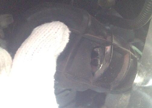 サンバー TT2 ステアリングラックブーツ交換
