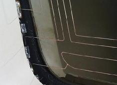 ガラスアンテナは車検大丈夫?