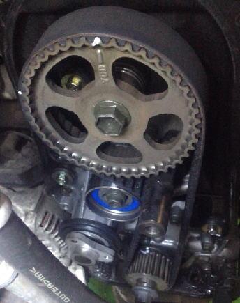 ワゴンR MC11S タイミングベルト交換