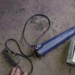 タイミングライト 点火タイミングを取るための工具