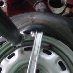 タイヤレバー ベルト調整やタイヤ交換に使う工具