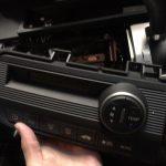 フリード GB4 エアコンコントロールパネル照明電球切れ交換