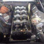 パジェロ V78W ヘッドカバーパッキン交換