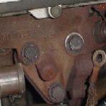 カプチーノ排気漏れ修理 エキマニのボルトが緩みやすい