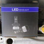 ヘッドライトをLEDにしてみた!Amazonで売れ筋LEDヘッドライトをレビュー