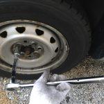 車の冬支度とタイヤ交換をやった