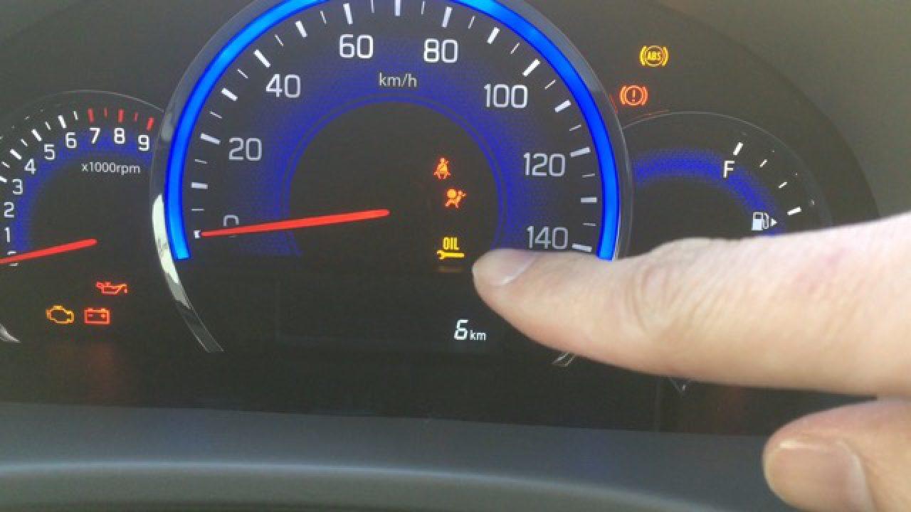 警告 灯 オイル エンジン