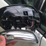 ウィッシュ ドアミラーウインカーユニット交換 ZGE20G